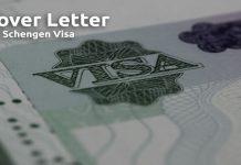 Cover Letter For Schengen Visa