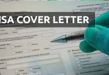 cover letter for Canada Visa