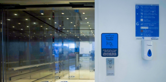 53 touchless elevators installed in Abu Dhabi